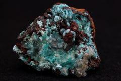 荧石-矿物 库存照片