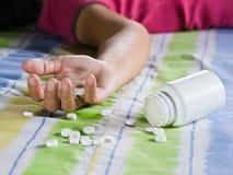 药剂过量作为 库存照片