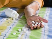 药剂过量作为 图库摄影