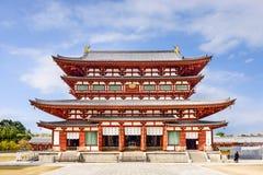 药师寺寺庙 免版税库存照片