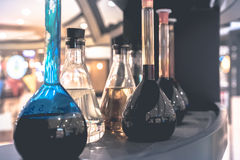 药房和化学 免版税库存图片