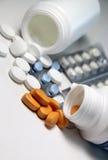 药片和片剂 库存图片