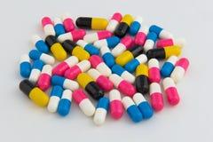 药片和胶囊药物 库存照片