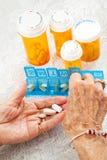 药片排序 免版税图库摄影