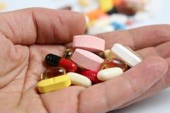 药片维生素 免版税库存图片