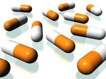 药片 向量例证