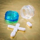 药物。 免版税库存图片