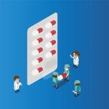 药物发展 免版税库存图片