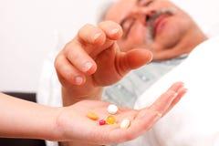 药物服务 免版税库存照片