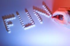 药物现有量 免版税库存图片