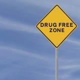 药物自由区 库存照片