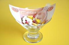 药物 免版税库存照片