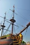 荷兰东印度公司船阿姆斯特丹 免版税图库摄影