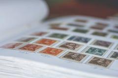 荷兰人邮票 免版税库存图片