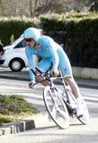 荷兰人Lars景气骑自行车者 库存照片