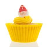 荷兰人Sinterklaas杯形蛋糕 图库摄影