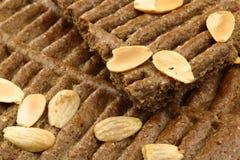 荷兰传统酥皮点心的speculaas 库存图片