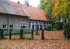 荷兰农厂房子 库存照片