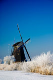 荷兰冬天妙境 库存照片