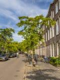 荷兰历史的街道格罗宁根 库存图片