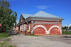 荷兰厨房的大厦在Kronstadt,俄罗斯 免版税图库摄影