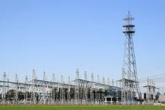 荷兰发电站 库存图片