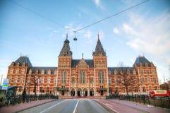 荷兰国家博物馆在阿姆斯特丹 库存照片