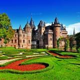 荷兰城堡德哈尔 免版税库存图片