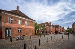 荷兰处所在波茨坦,勃兰登堡,德国 免版税库存图片