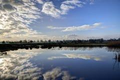 荷兰天空 免版税库存照片