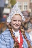 年轻荷兰女孩 免版税库存图片
