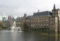 荷兰安置议会 免版税库存图片