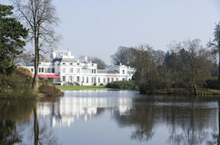 荷兰宫殿soestdijk 免版税库存图片