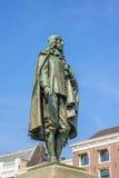 荷兰政客约翰德威特纪念品在海牙,荷兰 免版税库存照片