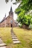 荷兰新教徒的教会 库存照片