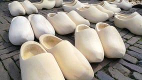 荷兰木鞋子障碍物 库存照片