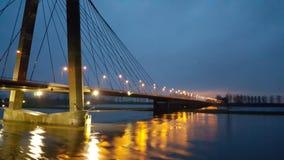 荷兰桥梁 免版税库存图片