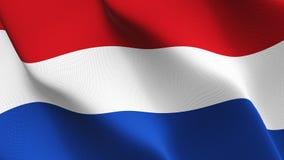 荷兰沙文主义情绪在风 向量例证
