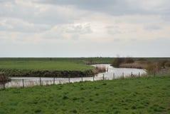 荷兰河 库存图片