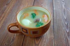 荷兰浓豌豆汤- Snert 免版税库存照片