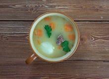 荷兰浓豌豆汤- Snert 图库摄影