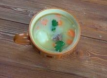 荷兰浓豌豆汤- Snert 免版税库存图片