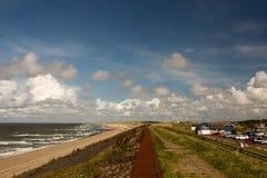 荷兰海滩 图库摄影
