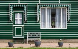 荷兰渔夫房子 免版税库存图片