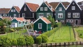 荷兰渔夫房子 免版税库存照片