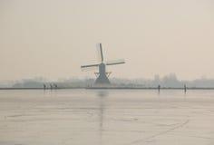 荷兰滑冰 库存照片