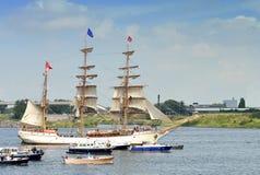 从荷兰的欧罗巴船 库存图片