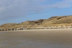 荷兰的沙丘 库存图片