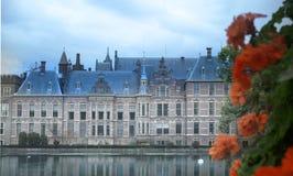 荷兰的Binnenhof在海牙 库存照片