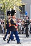 荷兰皇家卫兵 图库摄影